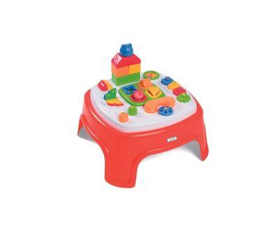 CALESITA. Mesa Didáctica en caja. Medidas: 56 x 42,6 x 43,3 cm. Recomendado para niños mayores de 1 año.