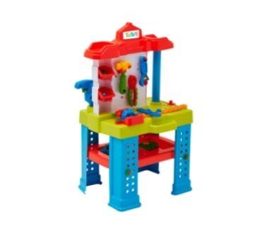 CALESITA. Banco de trabajo en caja. Medidas: 50 x 40 x 50,5 cm Recomendado para niños mayores de 3 años.