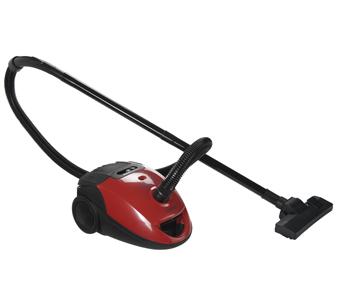 Aspiradora PUNKTAL 1600 W. Con bolsa  Poder de succión, bolsa de tela de alta resistencia, control de nivel de relleno de la bolsa, filtro permanente lavable, manguera giratoria 360°, control de velocidad. .