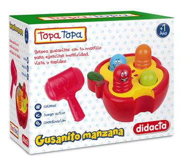 Pelota didáctica. Este juguete introduce al niño en el mundo de las formas, colores y los números.Estmulando los sentidos , curiosidad y habilidad manual. Diseñados con materiales de calidad y resistencia.