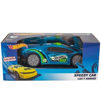 Vehículo con luz y sonido Hot Wheels. 2 modelos