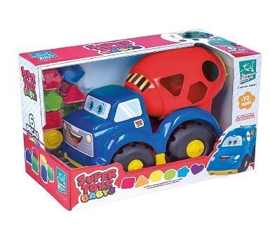 Juguete, Camión desmontable a control remoto, Diseño bombero con destornillador a pilas. Bocina. Control remoto para adelante y atrás. Totalmente desmontanble. Fonciona a pilas (no incluidas). Medidas 33 x 30 cm. Recomendado para + de 3 años.