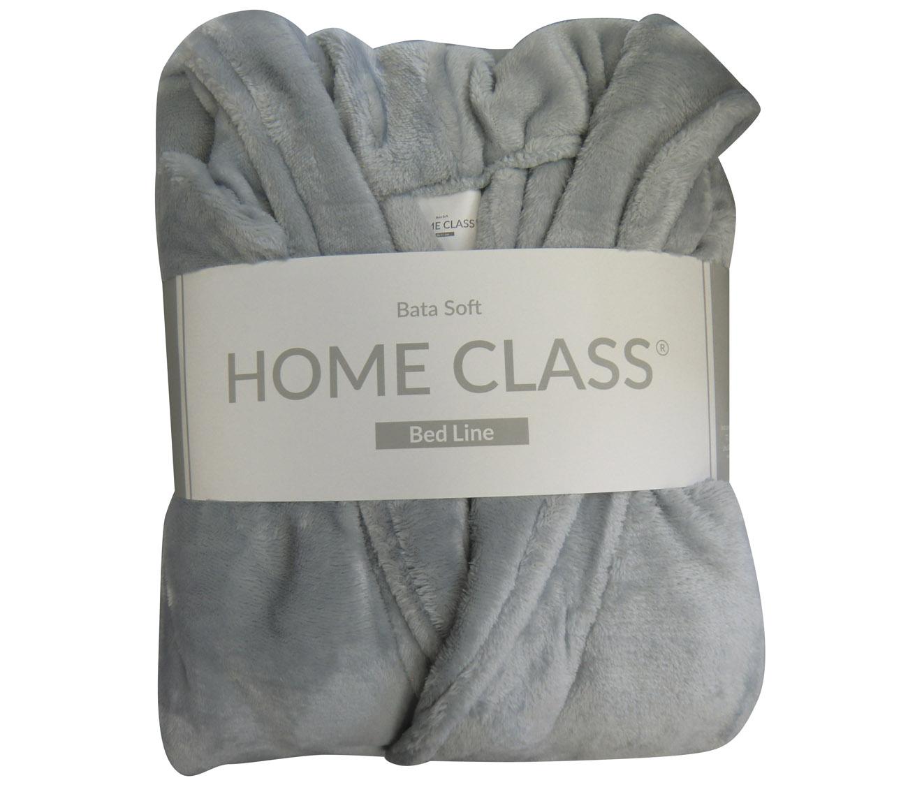 Bata Velour.Marca Döhler Composición: 100% algodón Unico tamaño Talle L. Color azul. Tamaño de espalda 60cm. Largo 114cm