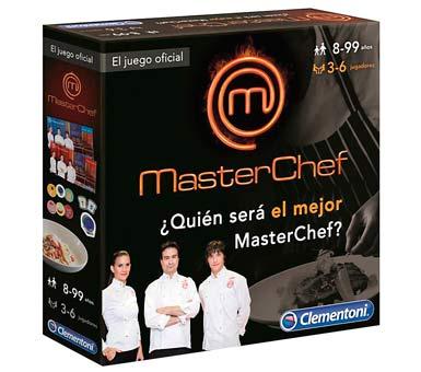 Juego oficial de Master Chef. Juego para 3 a 6 jugadores. Recomendado a partir de 8 años.