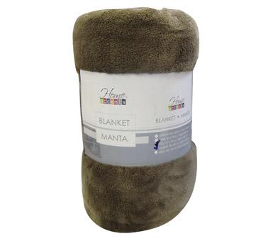 Frazada Dohler  100 % microfibra polyester Medidas: 1,50 * 2,40 cm
