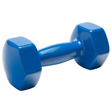 Pesa- Mancuerna Forrada en Pvc 5 Kg, Ideal para personas que quieren desarrollar fuerza. potencia y entrenamiento de los músculos. Hecha de hierro fundido de alta calidad y están revestidas con PVC.