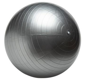 Pelota de Pilates . Altura 48 cm. Antideslizante, Adecuado para pilate, yoga, entrenamiento con pesas y otros deportes de equilibrio. Fácil de limpiar y transportar. Color no a elección.