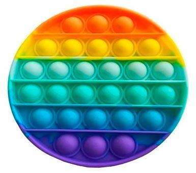 Pop It Juego de habilidad motriz en Silicona. Recomendado para mayores de 3 años. Medidas de 13 x 13 cm.