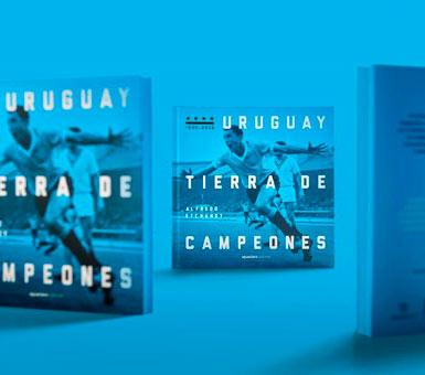 Uruguay Tierra de Campeones es un libro que cuenta la historia y los hitos del fútbol uruguayo, Con texto de Alfredo Etchandy. Ilustradon con más de 300 fotografías. 280 páginas.  Con tapa dura. Bilingüe.  Editorial Aguaclara.