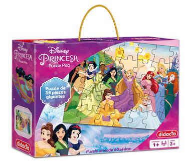 Juego Puzzle La granja. Contiene 35 piezas gigantes, en cartón super resistente y con atractivos colores. Ideal para armar en familia.