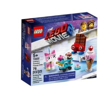 LEGO. Mejores amigos de UniKitty en todo el mundo. Contiene: 76 piezas. Recomendado para niños mayores de 5 años.