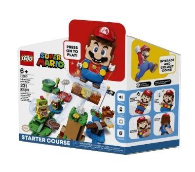 LEGO. Aventuras con Mario  Contiene: 231 piezas. Recomendado para niños mayores de 6 años.