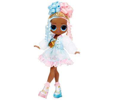 Juguete, Muñeca LOL Surprise OMG Series 4 Sweets Fashion Doll. 20 sorpresas. Incluye atuendo de moda, zapatos, accesorios, caja de sombrero, cepillo de pelo, bolsa de ropa, pegatina, percha, soporte para muñecas y espacio de juego reutilizable. Medidas: 30 x 21 cm. Recomendad para + de 4 años.