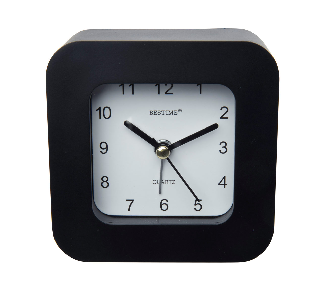 Funciona con 1 pila AA, medidas aproximadas: 10 x 10cm. Color: negro